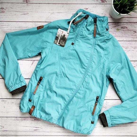 Naketano Kanone ist Geladen W jacket green blue